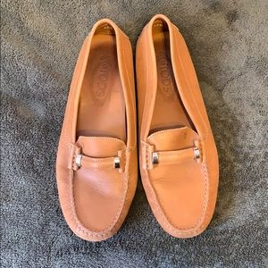 Tods leather shoes